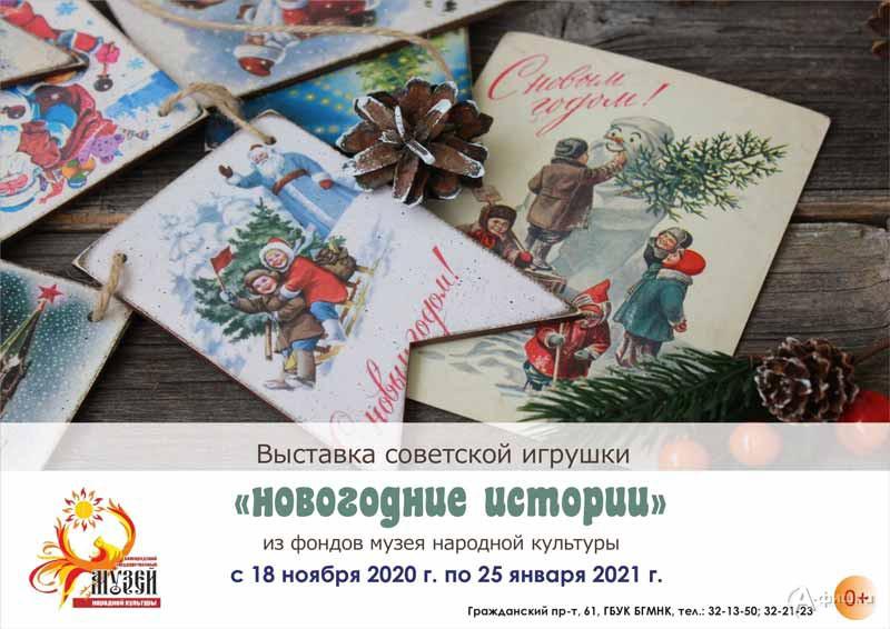 Выставка «Новогодние истории»: Афиша выставок в Белгороде
