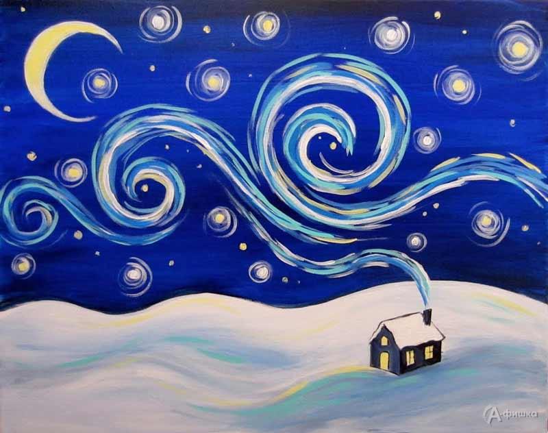 Мастер-класс «Зимняя сказка»: Детская афиша Белгорода