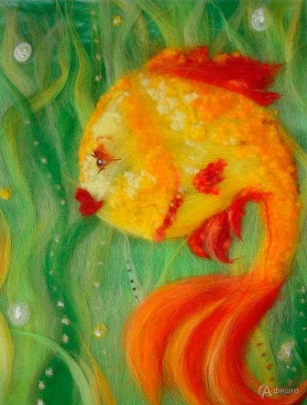 Мастер-класс «Волшебная рыбка»: Детская афиша Белгорода