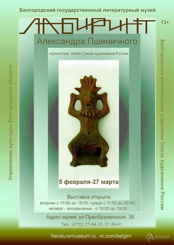 Выставка Александра Пшеничного «Лабиринт»: Афиша выставок в Белгороде