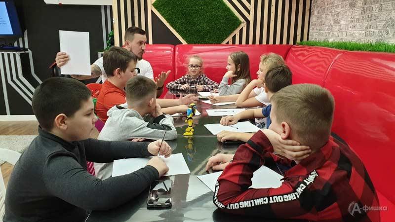 Вводное занятие курса «Юный блоггер»: Детская афиша Белгорода