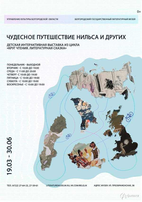 Выставка «Чудесное путешествие Нильса и других»: Афиша выставок в Белгороде