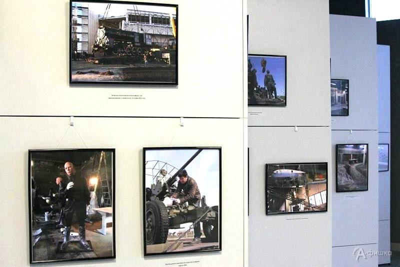 Выставка «Как это было…» в музее «Битва за оружие Великой Победы»