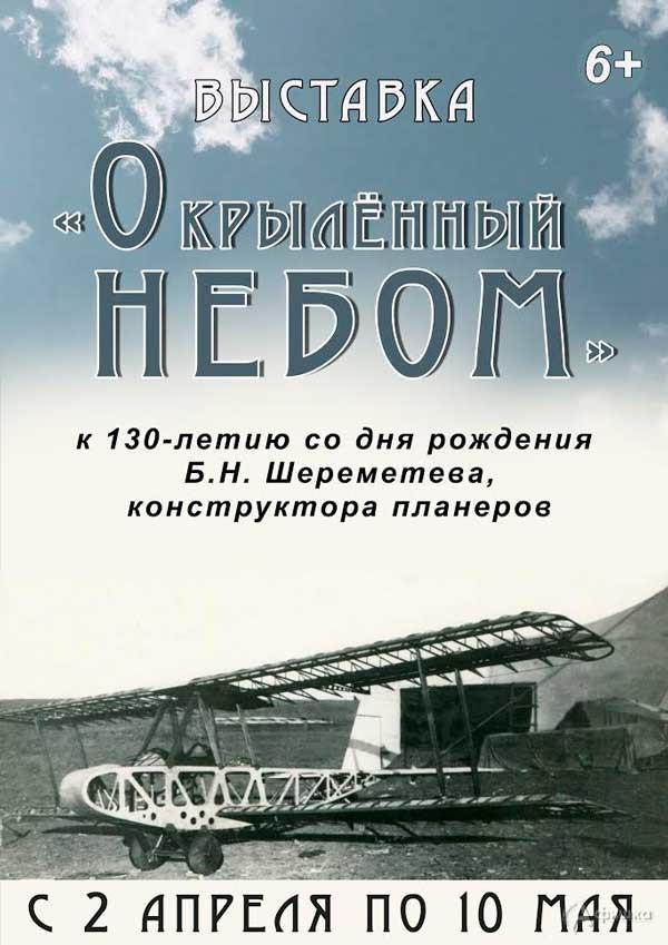 Выставка «Окрылённый небом»: Афиша выставок в Белгороде