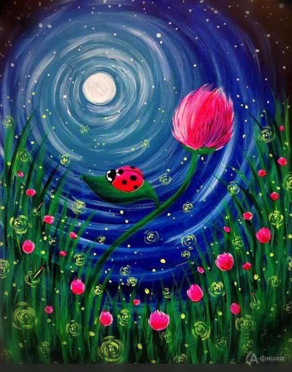 Мастер-класс «Волшебная ночь»: Детская афиша Белгорода