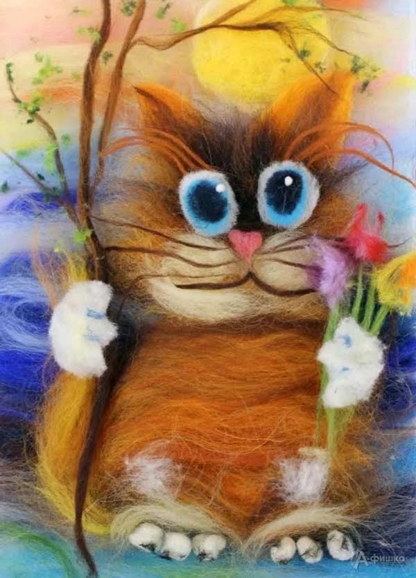 Мастер-класс «Веселый кот»: Детская афиша Белгорода