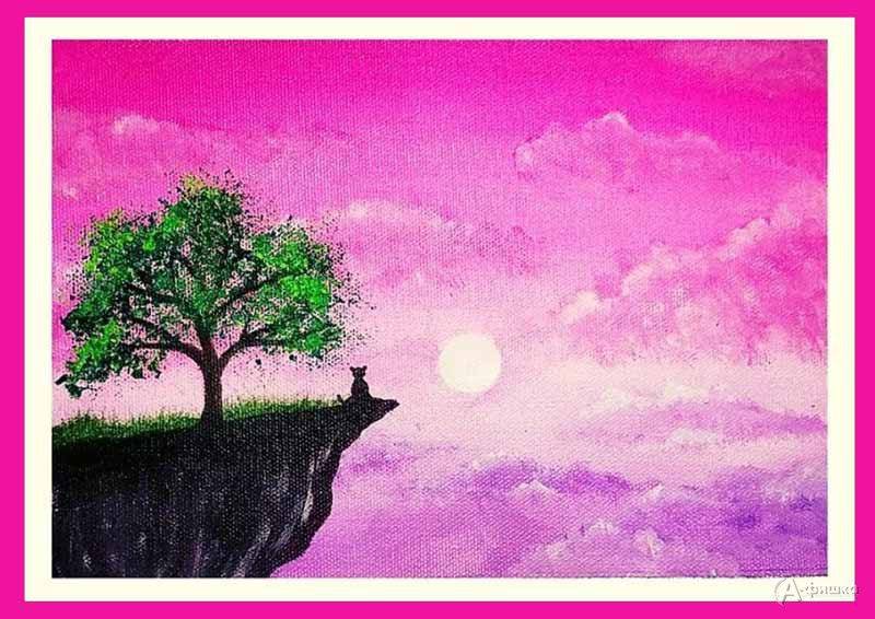 Мастер-класс «Розовые облака»: Детская афиша Белгорода