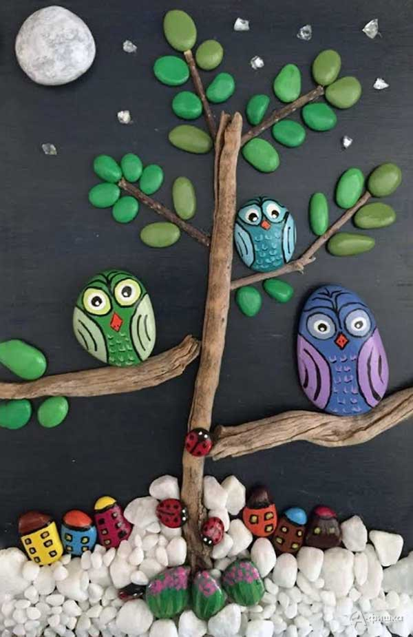 Мастер-класс «Семейство совушек»: Детская афиша Белгорода