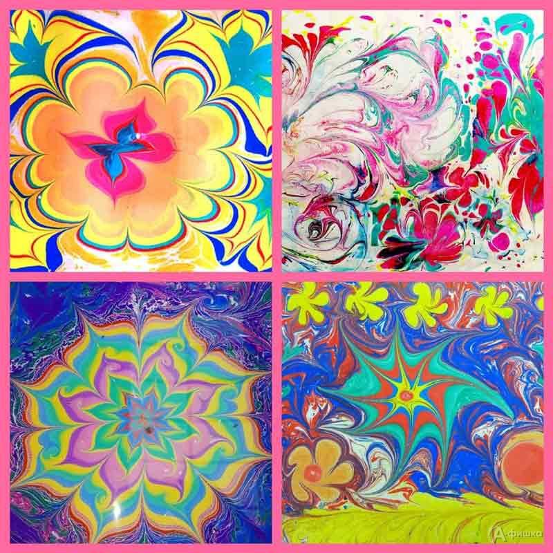 Мастер-класс «Цветочные узоры»: Детская афиша Белгорода
