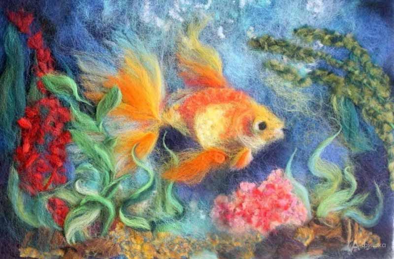 Мастер-класс «Подводный мир»: Детская афиша Белгорода