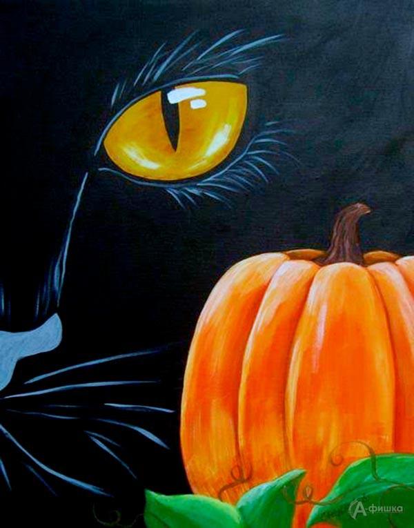 Мастер-класс «Чёрный кот»: Детская афиша Белгорода
