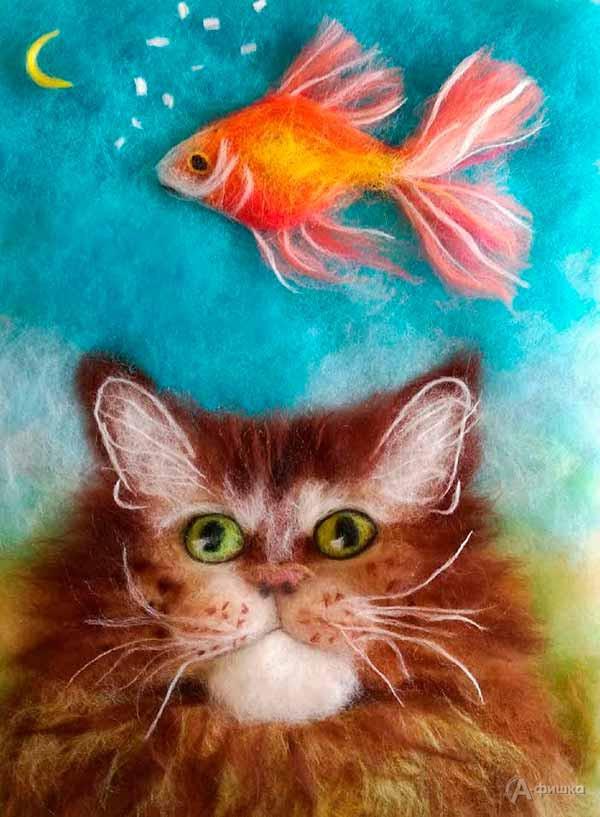 Мастер-класс «Кошачьи сны»: Детская афиша Белгорода