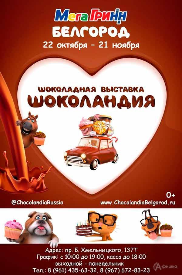 Шоколадная выставка «Шоколандия»: Не пропусти в Белгороде