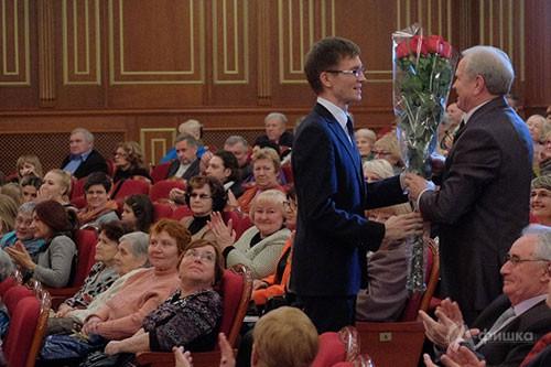 Юбилейный вечер в Большом зале Белгородской филармонии к 75-летию Ивана Григорьевича Трунова