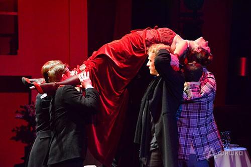 В Белгороде представлена премьера спектакля «Идиот» по романы Ф. М. Достоевского