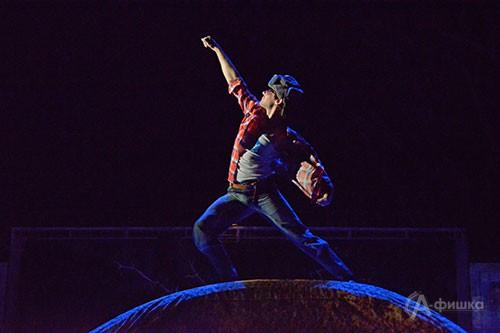 В Белгороде впервые представлен спектакль по пьсе Виктора Ольшанского «Зимы не будет!»