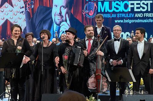 Директор Белгородской госфилармонии Светлана Боруха приветствует VI фестиваль «Борислав Струлёв и друзья»