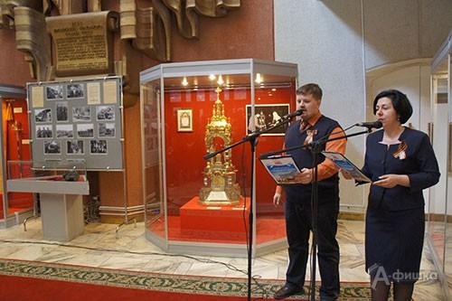 Церемония открытия выставки «От «чёрных ножей» к ювелирному искусству» в музее-диораме