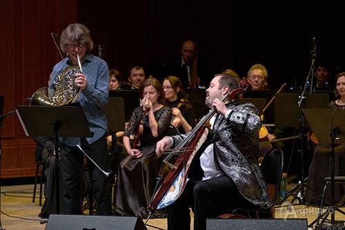 Валторна и виолончель становятся абсолютно джазовыми инструментами в руках мастеров