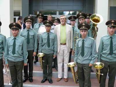 Творческий вечер Александра Михайлова в Белгороде: с духовым оркестром войсковой части Белгород-22