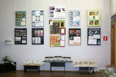 В первых числах сентября в выставочном зале БГТУ им. В.Г. Шухова официально откроется экспозиция работ студентов архитектурно-строительного института по специальности