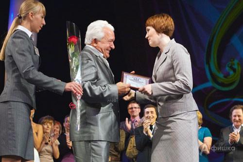 Художественный руководитель БГАДТ им. Щепкина считает, что все эти достижения - заслуга замечательной труппы театра...