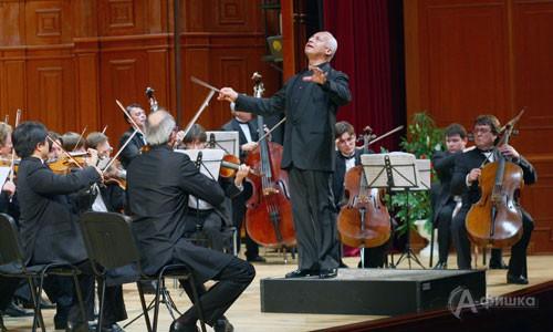 Владимир Спиваков и «Виртуозы Москвы» дали концерт в Белгороде