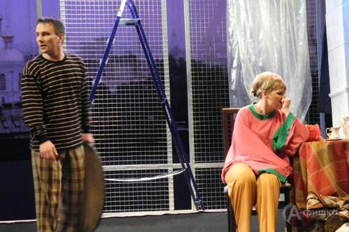 Сцена из спектакля «Портрет» в постановке Урсулы Макаровой