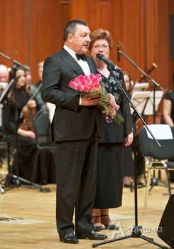Председатель Попечительского совета Фонда развития классического музыкального искусства В.Ф. Зотов