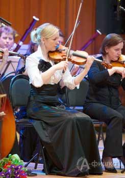 Наталья Боровик, руководитель камерного оркестра «Mezzo music»