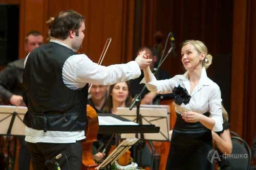 Борислав Струлёв и Наталья Боровик