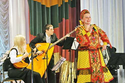 Концерт Белгородской филармонии в ДК п. Борисовка