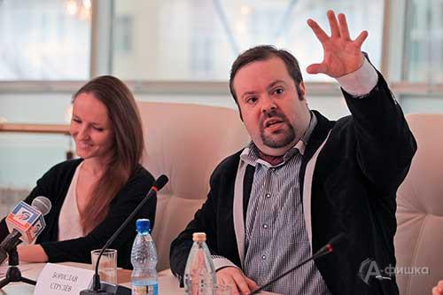 Борислав Струлёв рассказывает о подготовке фестиваля в Белгороде