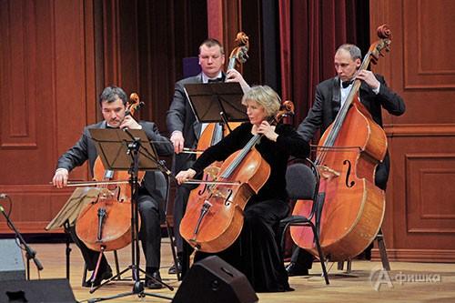 Участники оркестра «Mezzo music» БГФ