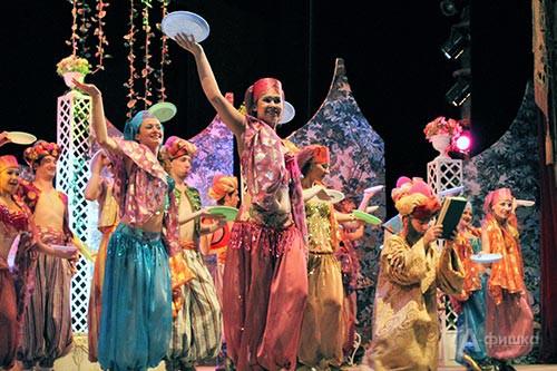 Терецкая церемони (артисты БГАД им. Щепкина и студенты БГИИК), фото Натальи Козловой