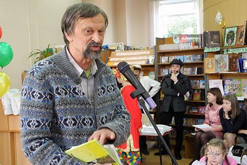 Юрий Нечипоренко стал гостем детского читательского праздника в Белгороде