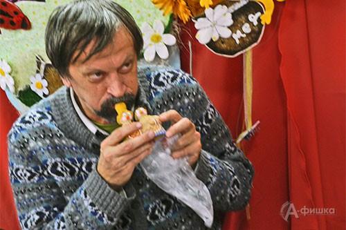 На память о Белгороде в коллекции Юрия Нечипоренко останется игрушка-свистулька