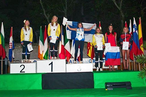Осенняя «бронза» белгородских спортсменок по ориентированию