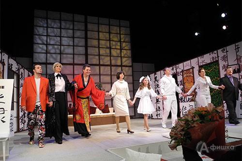 В Белгороде представили премьеру спектакля «Как боги» Юрия Полякова в постановке Игоря Ткачёва