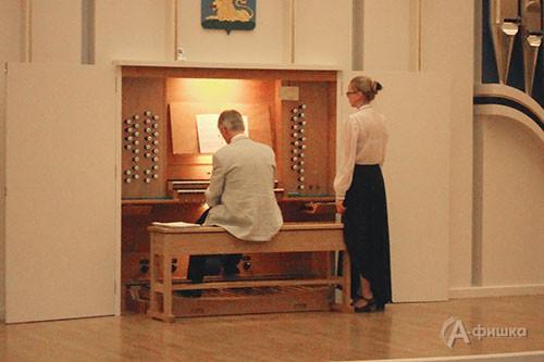 Бельгийский органист Игнас Михельс выступил в Органном зале Белгородской консерватории