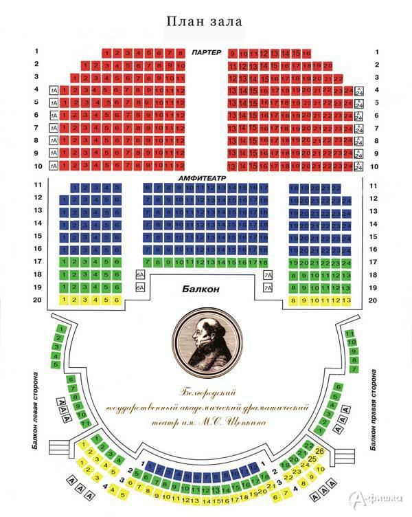 Белгородский государственный академический драматический театр имени М.С. Щепкина.